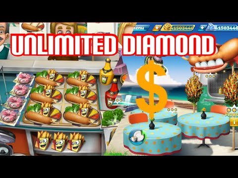 Cooking Fever UNLIMITED DIAMOND - CORN DOG VAN