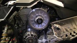 9. 2011 BRP Ski-Doo Rotax ACE 600 4-stroke engine.
