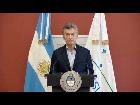 Macri criticó al kirchnerismo por