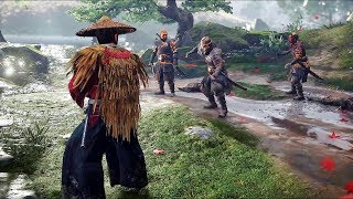 Ghost Of Tsushima - Brutal Combat Stealth And Free Roam Gameplay
