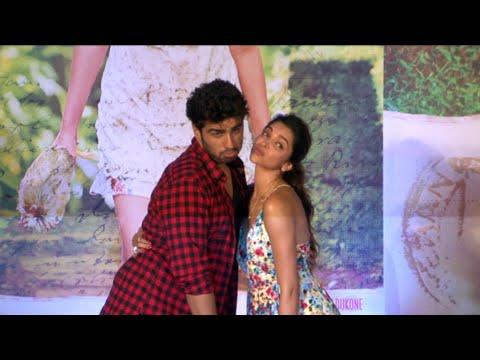 Deepika Padukone & Arjun Kapoor At Song Launch Of Finding Fanny