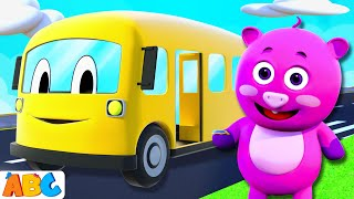 The Wheels On The Bus Go Round And Round - 3D Nursery Rhymes  by All Babies Channel