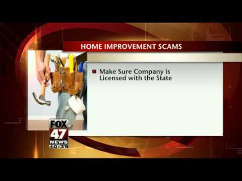 Tips to Protect You Against Home Improvement Scams