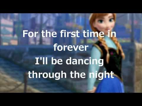 """Lyrics: """"For the First Time in Forever"""" (Disney's Frozen)"""