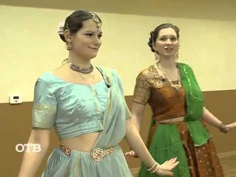 Индийские танцы. Урок онлайн обучения.