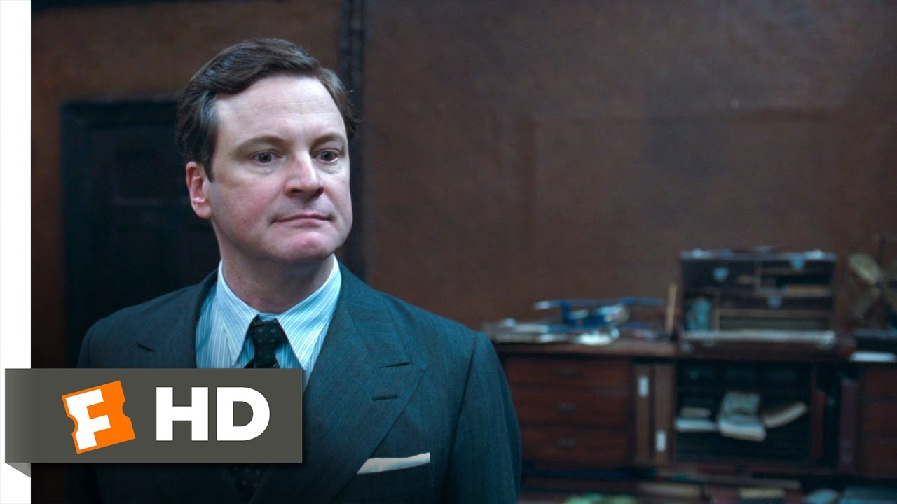 The King's Speech (6/12) Movie CLIP – You Don't Stammer When You Swear (2010) HD