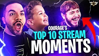 COURAGE'S TOP 10 MOMENTS ON STREAM!!! 400,000 SUBSCRIBER SPECIAL!!!