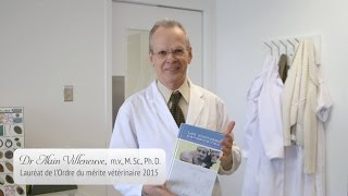 Dr Alain Villeneuve, m.v., M. Sc., Ph. D.