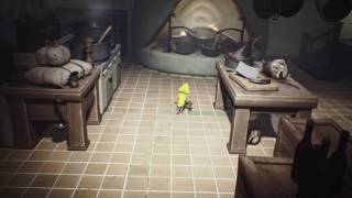 "Chapter 3. How to get the trophy ""kitchen hand"", in the game Little Nightmares. Come ottenere il trofeo ""aiuto cuoco"" nel gioco Little Nightmares."