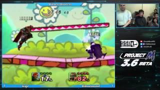 Bidooof vs Kage – Incredibly hype Ganon dittos at a Montreal tournament
