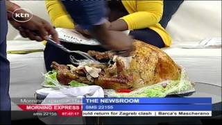 US Embassy in Nairobi donates Turkey to Standard Group in celebration of Thanks Giving Day