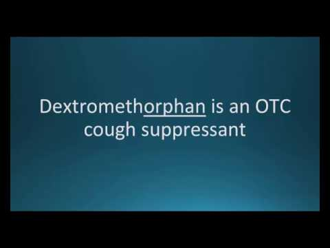 How to pronounce dextromethorphan (Robitussin) (Memorizing Pharmacology Flashcard)