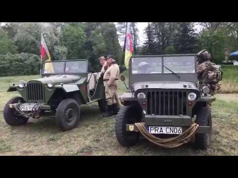 Wideo1: XVII Rajd Zabytkowych Pojazdów w Rydzynie