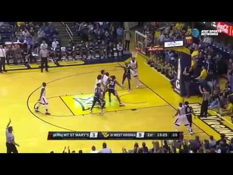 Chris Wray Mount St Mary's 2016-2017 Highlight Tape.