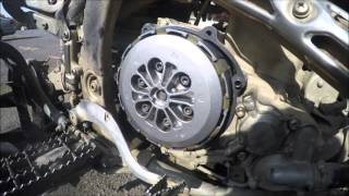 4. YFZ450 X & R - OIL / OIL FILTER / CLUTCH PLATES / CLUTCH SPRINGS REPLACMENT - 10-24-15