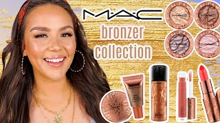 MAC BRONZER COLLECTION   swatches + review by Danna Ann