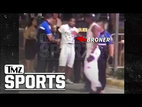 Adrien Broner Handcuffed in Miami Beach After Yelling at Cops | TMZ Sports