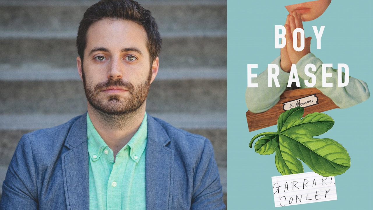 Garrard Conley at the 2017 AWP Book Fair