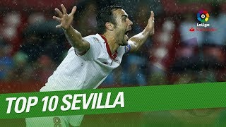 TOP 10 Goals Sevilla FC LaLiga Santander 2016/2017:10.- Franco Vazquez, Sevilla FC vs Osasuna9.- Ben Yedder, Sevilla FC vs Deportivo Alaves8.- Stevan Jovetic, Real Madrid vs Sevilla FC7.- Pablo Sarabia, Sevilla FC vs SD Eibar6.- Vitolo, Sevilla FC vs Osasuna5.- Ben Yedder, Sevilla FC vs RC Deportivo4.- Ben Yedder, Sevilla FC vs Deportivo Alaves3.- Franco Vazquez, Sevilla FC vs RCD Espanyol2.- Joaquin Correa, Sevilla FC vs RC Celta1.- Stevan Jovetic, Sevilla FC vs OsasunaSubscribe to the Official Channel of LaLiga in High Definition http://goo.gl/Cp0tCLaLiga Santander on YouTube: http://goo.gl/Cp0tCLaCopa on YouTube: http://bit.ly/1P4ZriPLaLiga 123 on YouTube: http://bit.ly/1OvSXbiFacebook: https://www.facebook.com/lfpoficialTwitter: https://twitter.com/LaLigaInstagram: https://instagram.com/laligaGoogle+: http://goo.gl/46Py9