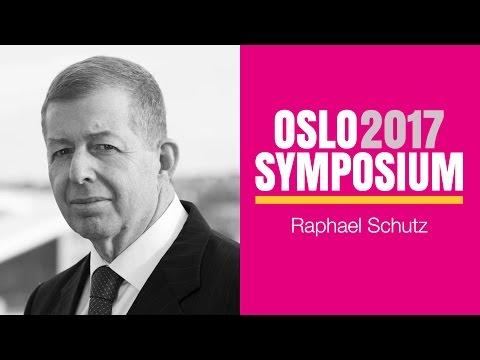 Israels ambassadør Raphael Schutz´ tale på Oslo Symposium 2017