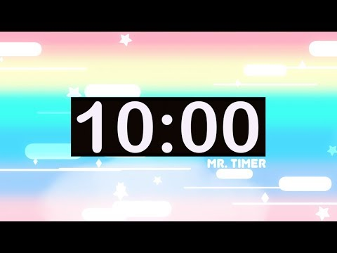 10 Minute Countdown Timer with Music for Kids!