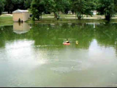 rc heli fishing