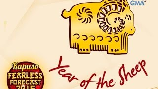 Kapuso Fearless Forecast 2015: Year of the Sheep
