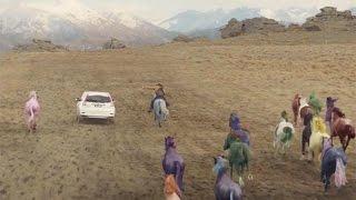 [Commercial] [Equestrian] Honda (Honda CR V Series II): Wild horse chase Agency: Leo Burnett Advertising Agency: Leo Burnett, Melbourne, Australia Executive ...