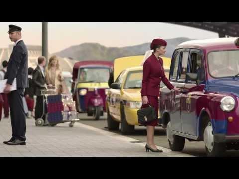 إعلان برشلونة و الخطوط الجوية القطرية