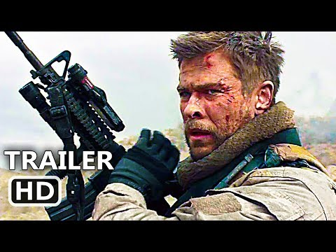 12 STR?NG Official Trailer (2018) Chris Hemsworth, Action Movie HD