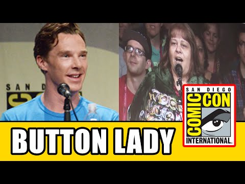 Benedict Cumberbatch displays his 'dragon voice' at Comic Con