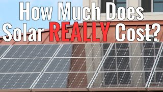 Forget the salesman or the confusing websites, this video will show you what a solar panel system REALLY costs. From the most basic starter kit to a whole ho...