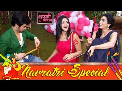 NAVRATRI SPECIAL : Thapki, Bihaan & Shraddha Decor