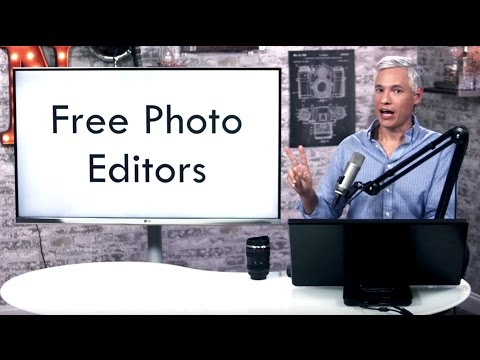 FREE Photo Editors (RAW): Photoscape X & RawTherapee