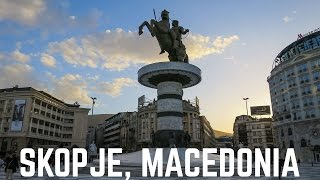 Skopje Macedonia  City pictures : Skopje 2016: A Visit to the Gem of Macedonia