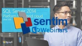 Sentim Bilişim Web Seminerleri: Şubat 2014 / SQL Server -- Azure ile Hibrit Çözümler -- Buğrahan TOPAL