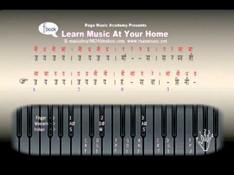 """Essay Learn Music At Your Home """" Sarswati Vandna """" You Can Learn And Sing Also- By Manish"""