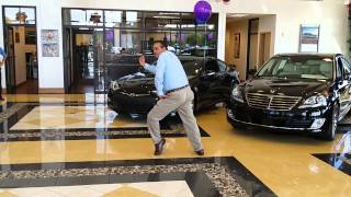 Amazing Moves from Dancing Car Salesman