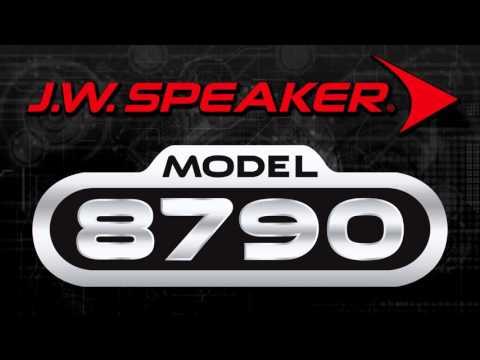 JW Speaker Black 8790 Adaptive L.E.D Led 7