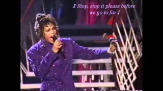 Whitney Houston (LIVE) 'Love's In Need of Love Today' & 'So Emotional' w/lyrics
