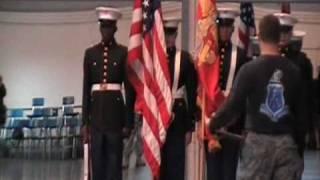 Marine JROTC Color Guard