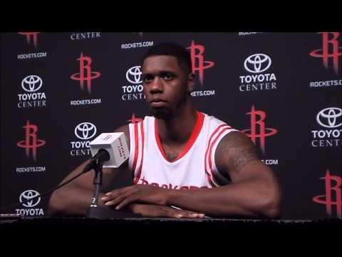 Terrence Jones Full Houston Rockets Interview - Media Day 2014