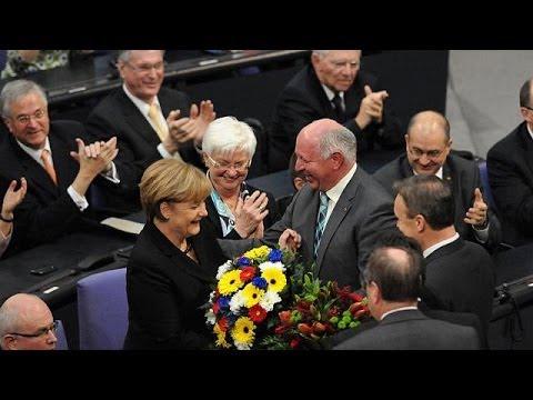 Angela Merkel élue chancelière d'Allemagne pour la troisième fois