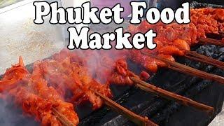 Video Eating Street Food in Phuket at a Local Market. Thai Street Food in Thailand MP3, 3GP, MP4, WEBM, AVI, FLV Juli 2018