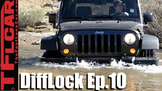 Meet TFL's New & Topless Long Term 2016 Jeep Wrangler Sport - DiffLock Ep. 10 by The Fast Lane Car