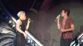 [HD] P!nk&Nate Ruess - Just Give Me A Reason - Live In Hamburg