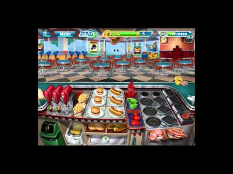 Cooking Fever [iPad Gameplay] Level 25