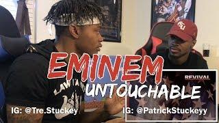 Video Eminem - Untouchable (Audio) - REACTION MP3, 3GP, MP4, WEBM, AVI, FLV November 2018