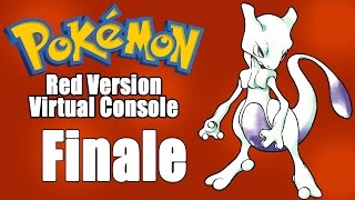 Catching Mewtwo & Finale! (Pokemon Red Virtual Console) by SkulShurtugalTCG