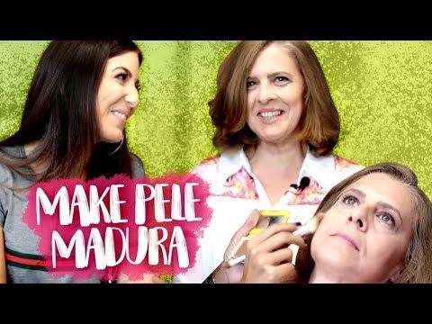 MAQUIAGEM PARA PELE MADURA! TUTORIAL COMPLETO + DICAS  Camila Lima